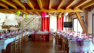 repas de baptême - tables d'hôtes azkena