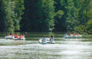 Pédalo Base de loisirs d'Orthez-Biron