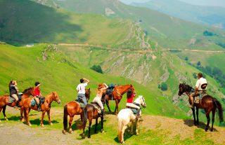 Balade à cheval pays basque