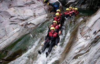 Canyoning en pays basque
