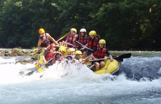 rafting en pays basque
