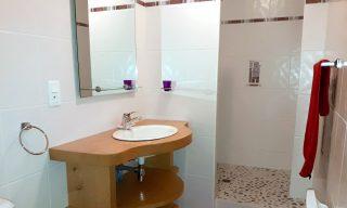 salle de bain chambre d'hotes Vanille