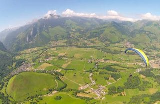 parapente au pays basque